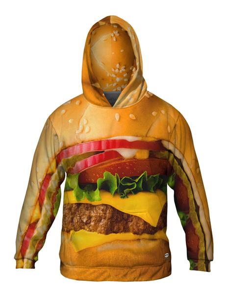 Big Burger Men's Hoodie Sweater