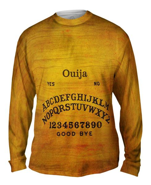 Ouija Board Mens Long Sleeve