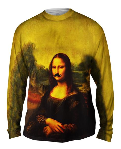 Moustache Hipster Da Vinci Mona Lisa