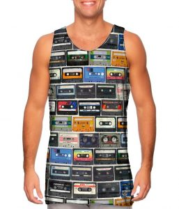 80s Mix Tape Mens Tank