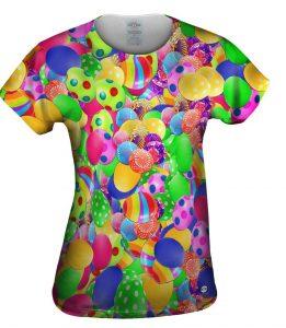 Easter Eggs Make Me Happy Womens T-Shirt