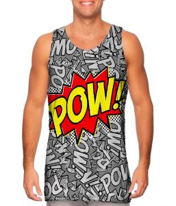 Pow Comic Mens Tank