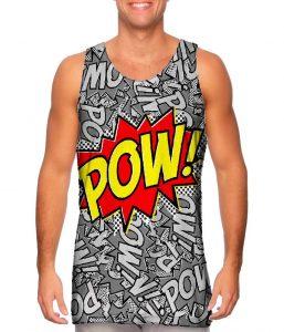 Pow Comic Mens Tank