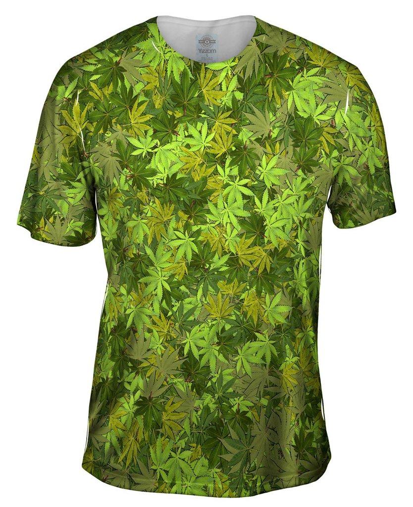 Yellow Haze Legalize It Mens Shirt