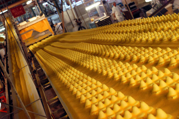 peeps factory