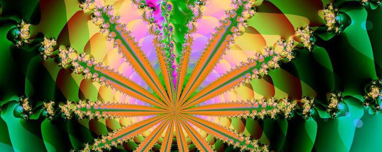 psychedelic leaf