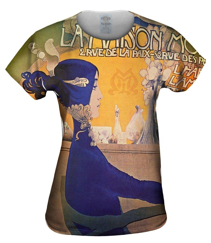 Art Nouveau 004 Womens Tshirt