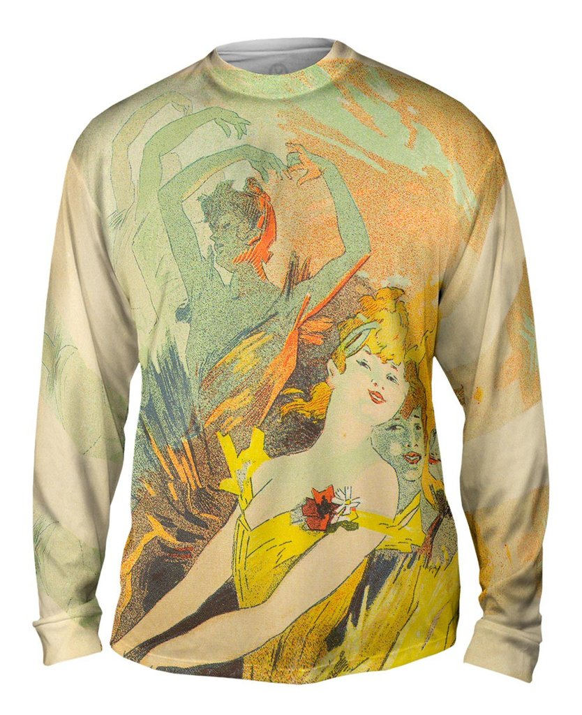 Art Nouveau 007 Mens Longsleeved Sweatshirt