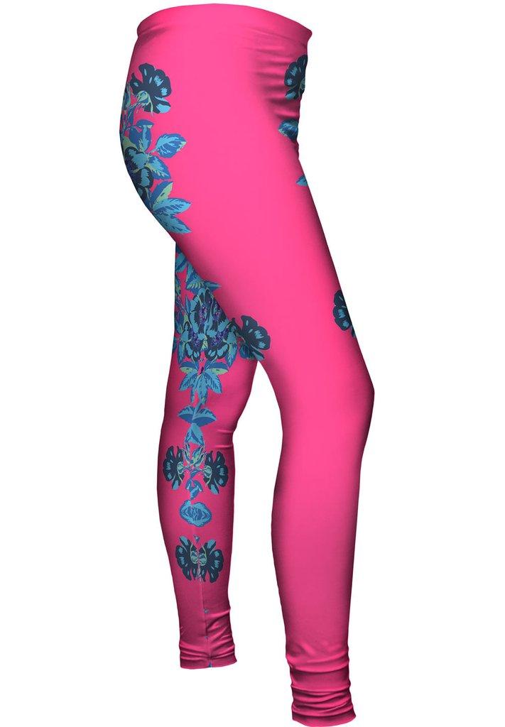 Floral Pink Leggings
