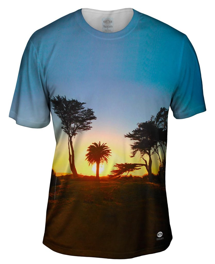 Baywood Park Sunset Mens T-shirt