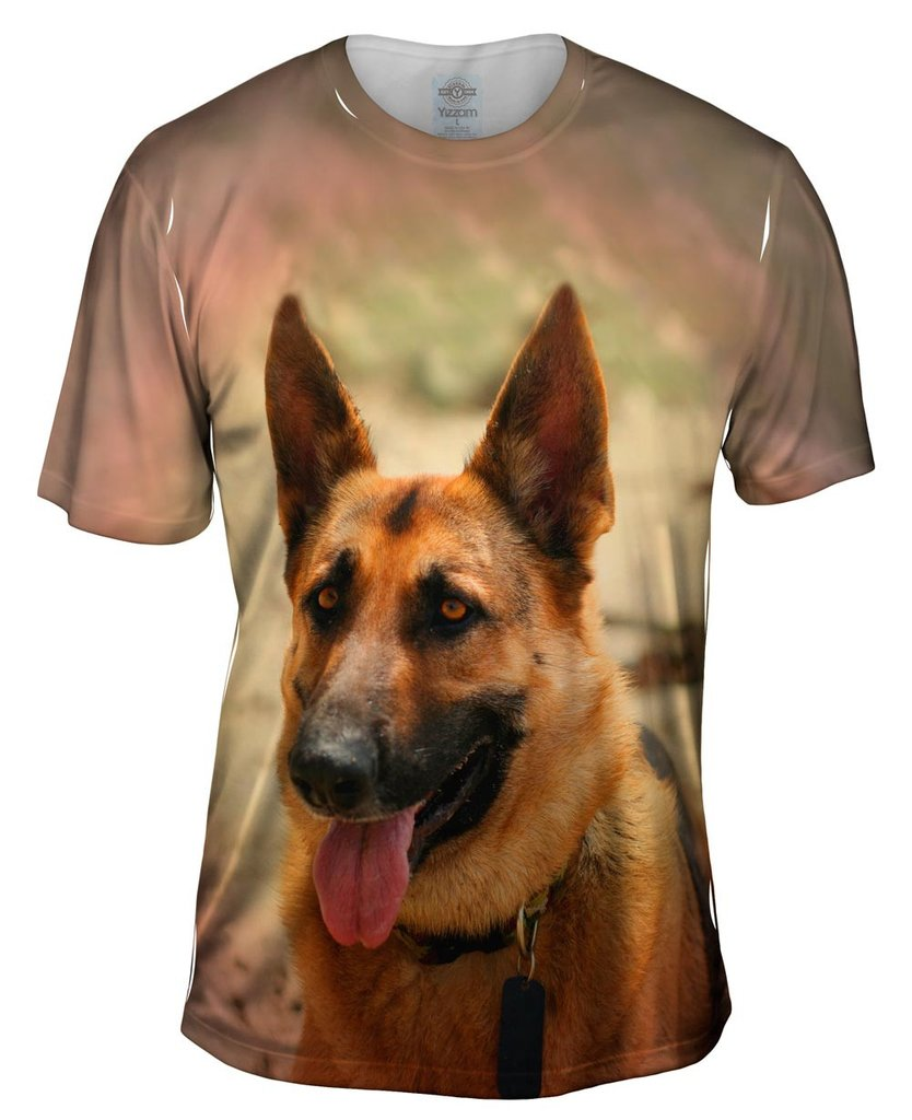 Mens German Shepard T-Shirt