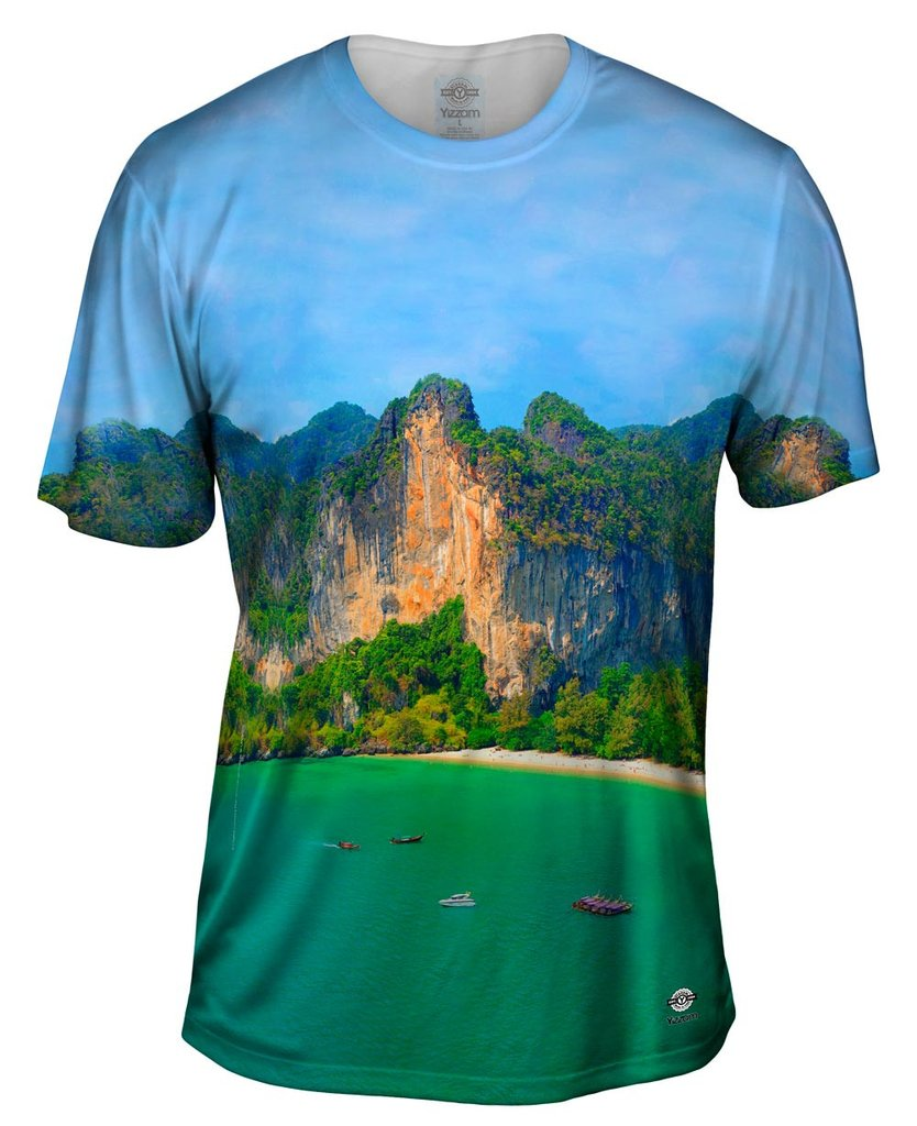 Railay_Beach Mens T-shirt