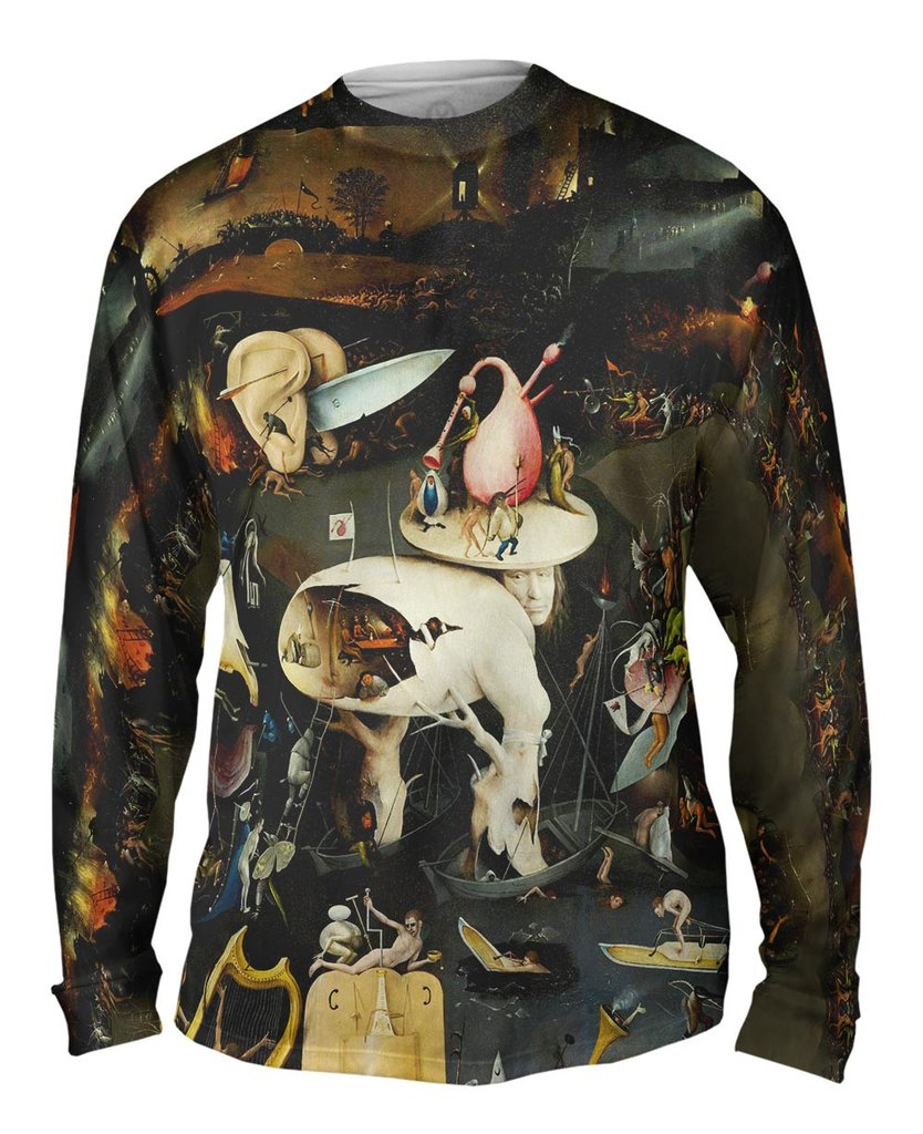 Bosch The Garden Of Earthly Delights Mens Long Sleeve