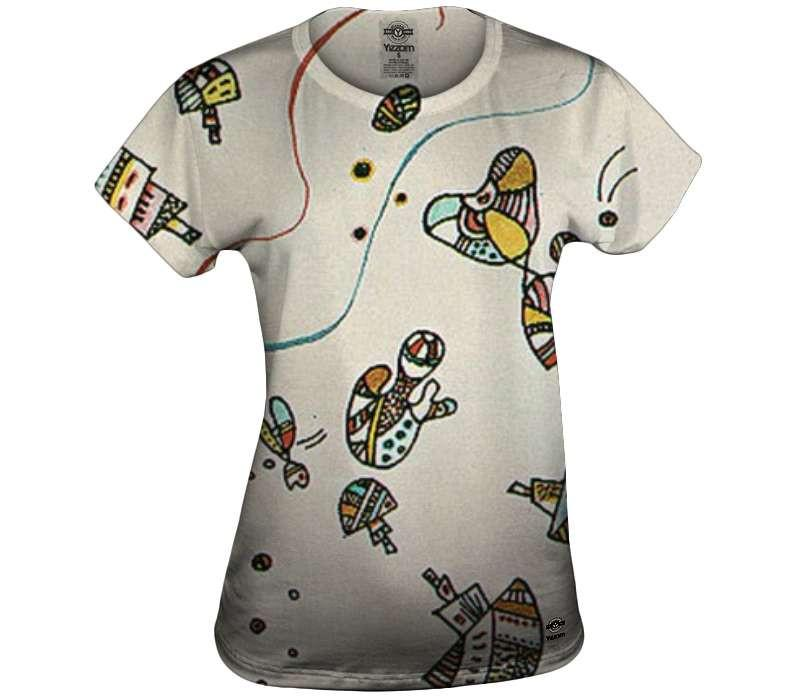 Last Watercolor - Kandinsky Womens T-shirt