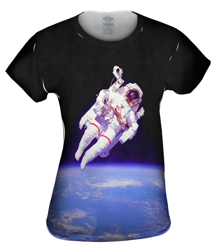 Nasa Spacewalk Womens T-Shirt