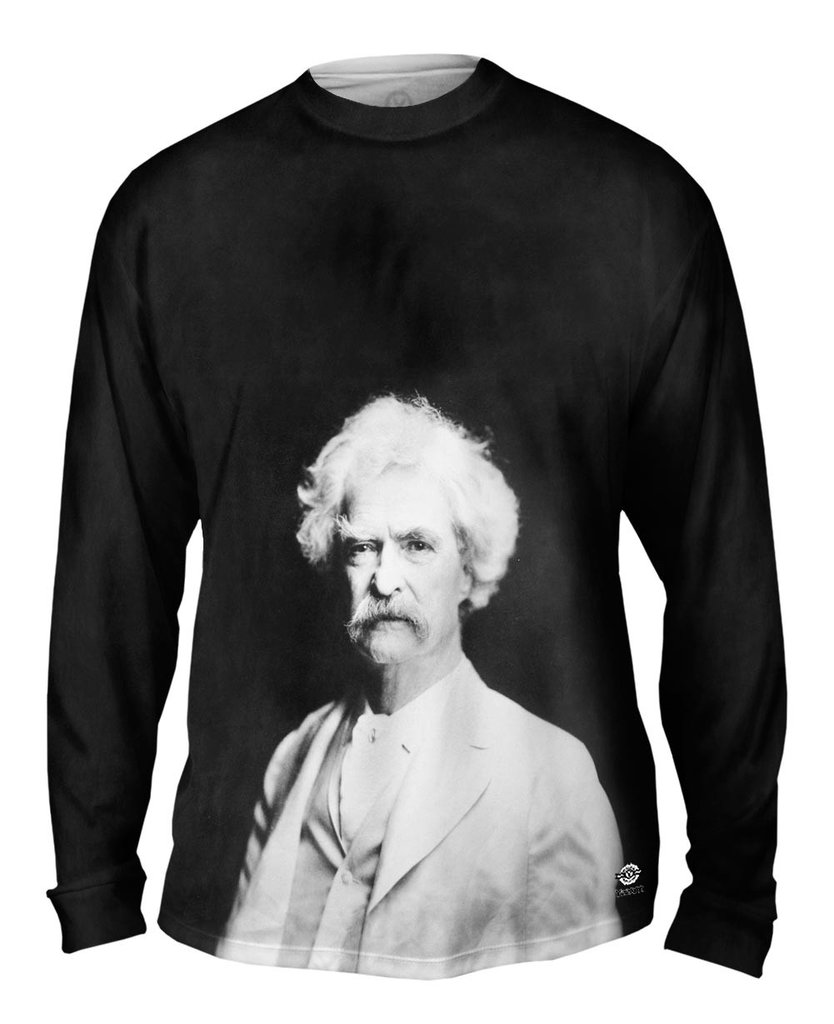 The Classics Mark Twain Mens T-shirt