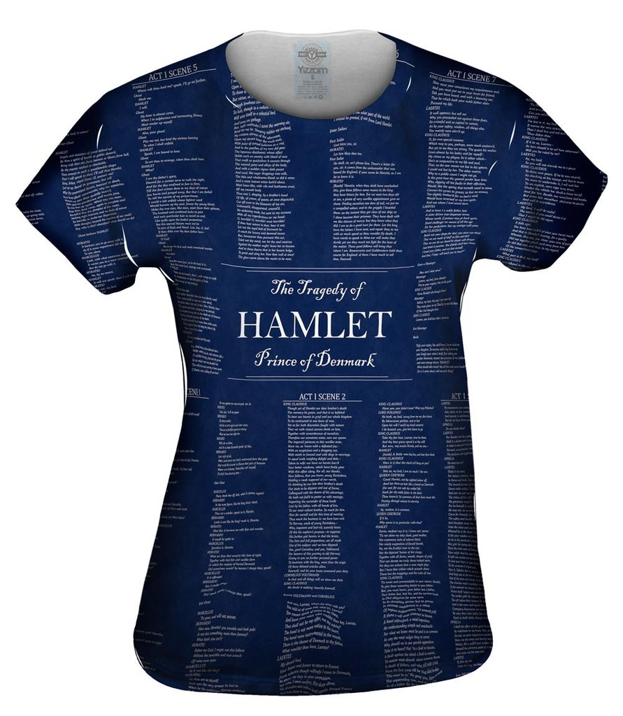 The Tragedy Of Hamlet Womens T-Shirt