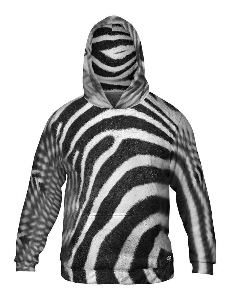 Zebra Mens Hoodie