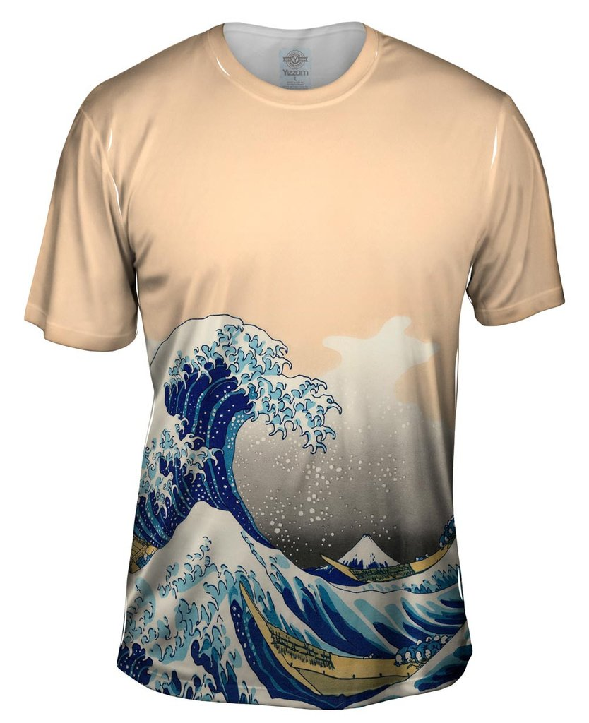 Hokusai Wave Mens Tshirt