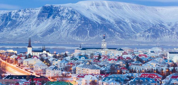 Reykjavik Iceland Christmas