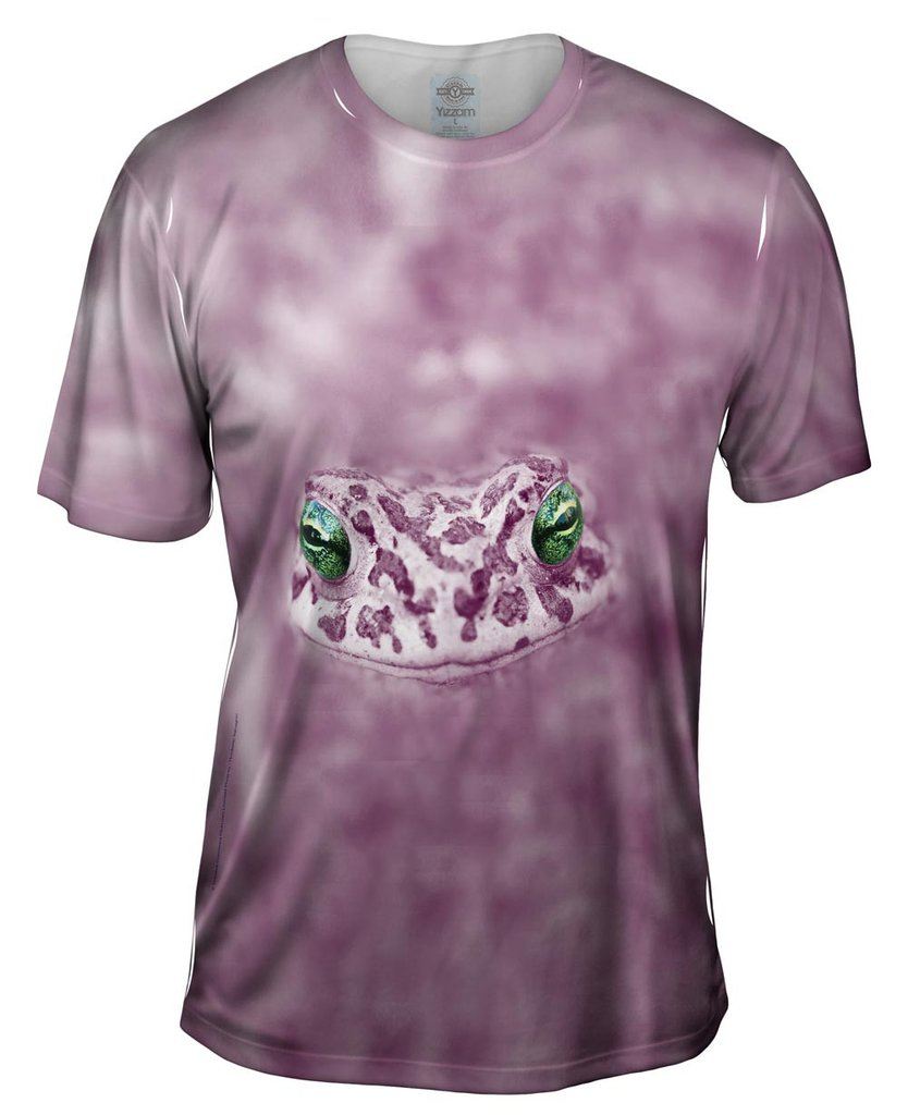 Dreamy Purple Frog Mens Tshirt