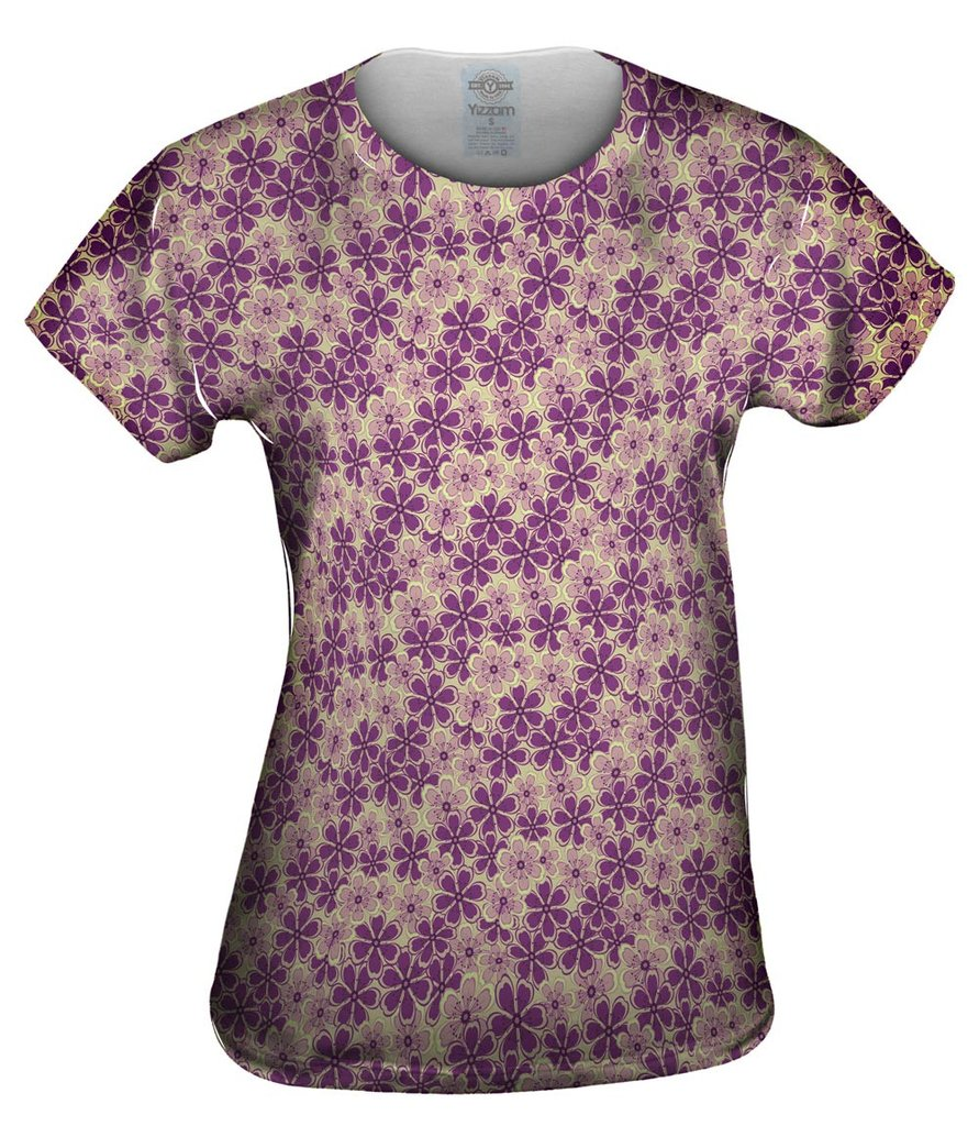 Garden Purple Mint Womens Top