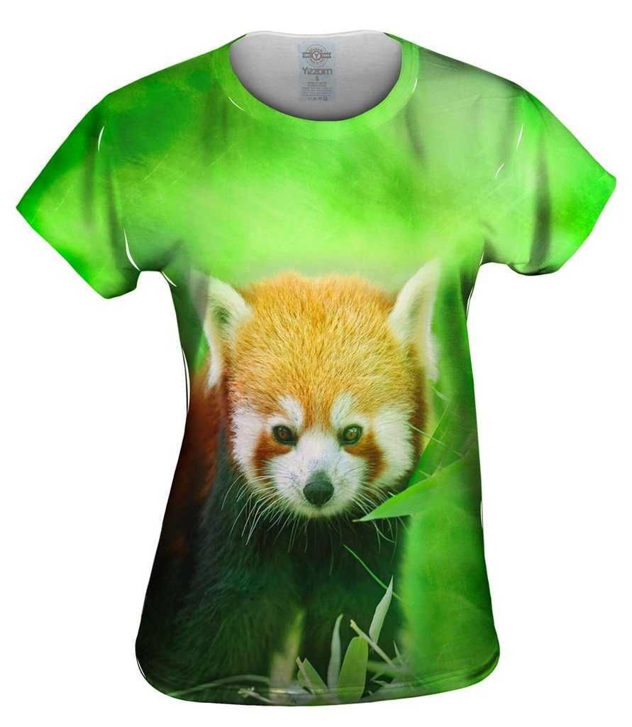 Red Panda Womens Tshirt