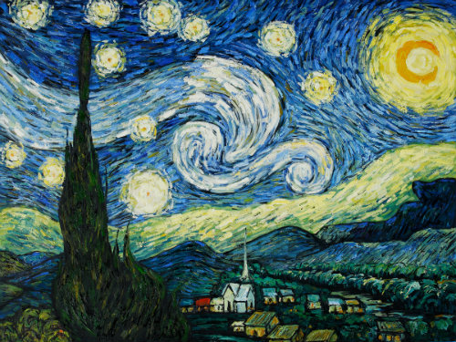 Van Gogh Starry Night 3