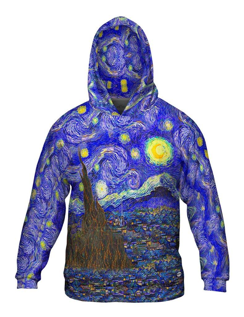 Van Gogh Starry Night mens hoodie