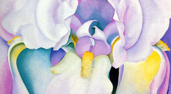 Georgia O Keeffe Light of Iris