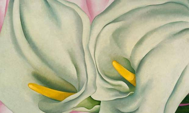 Georgia o keefe lillies