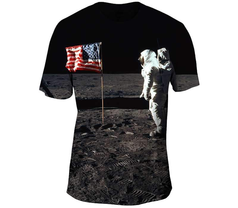 Buzz Aldrin Mens Tshirt