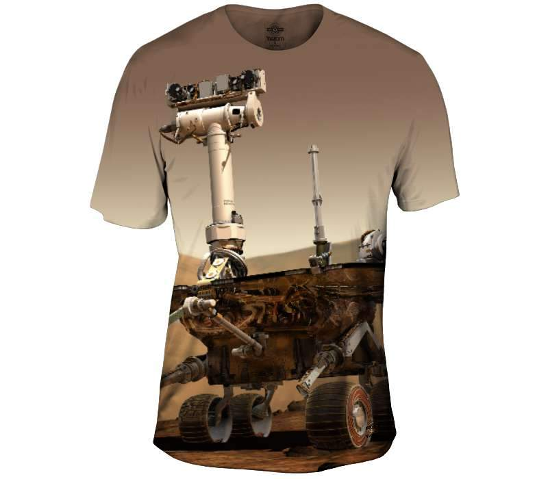 NASA Mars Rover Mens T-Shirt