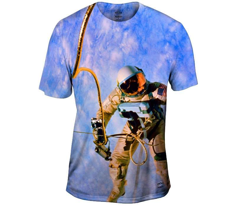 On a Tether Mens T-Shirt
