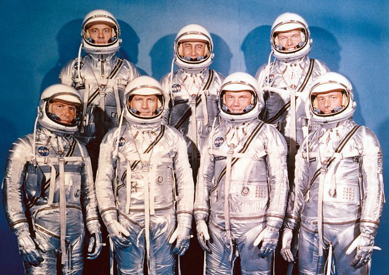 Project_Mercury_Astronauts