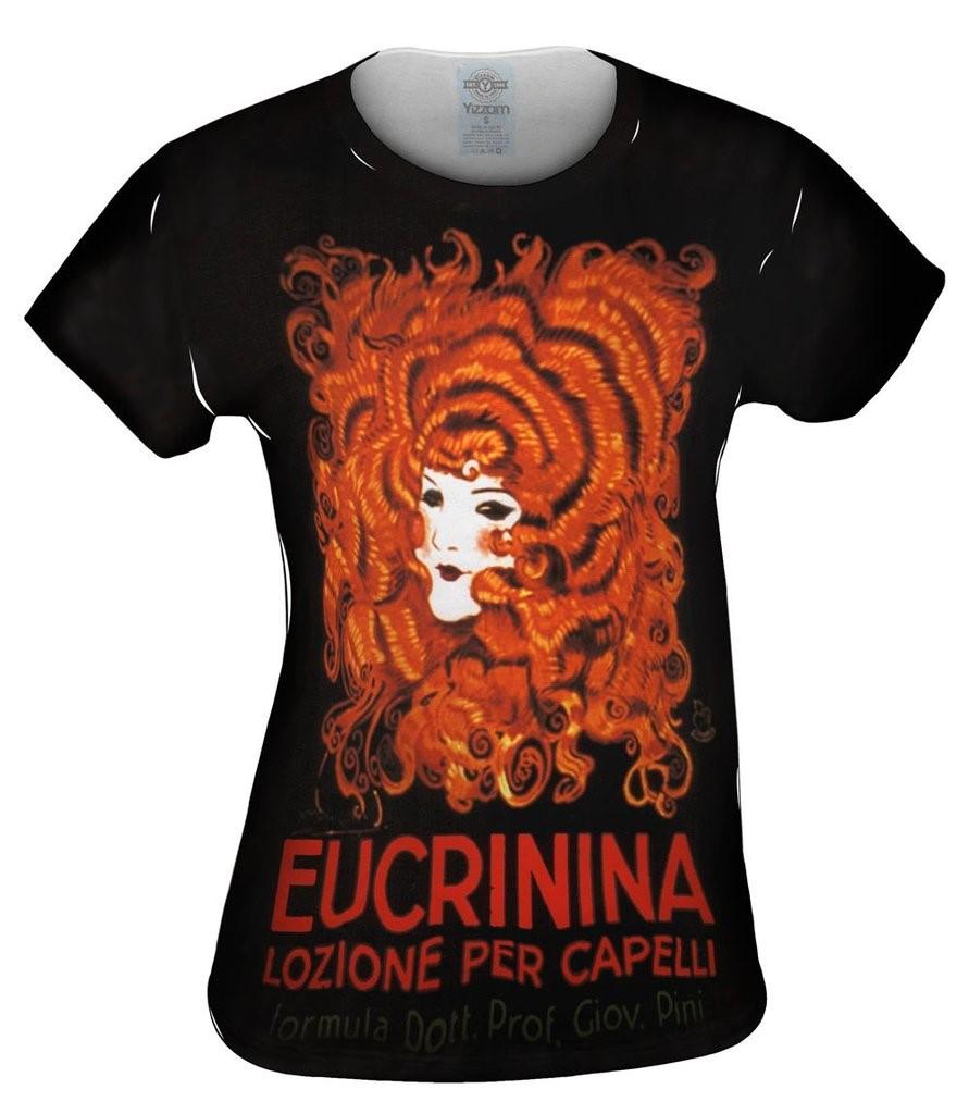 Achille Mauzan Eucrinina Hair Lotion 1921 Womens Tshirt