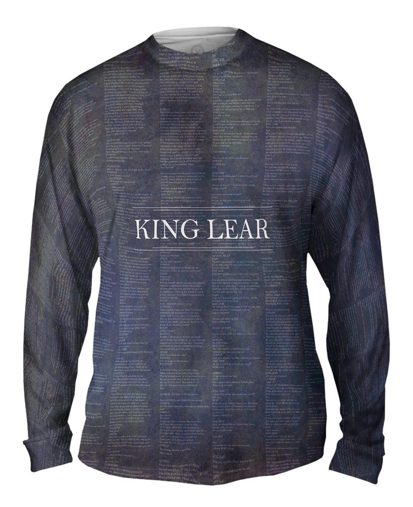 King Lear Mens Long Sleeve Shirt