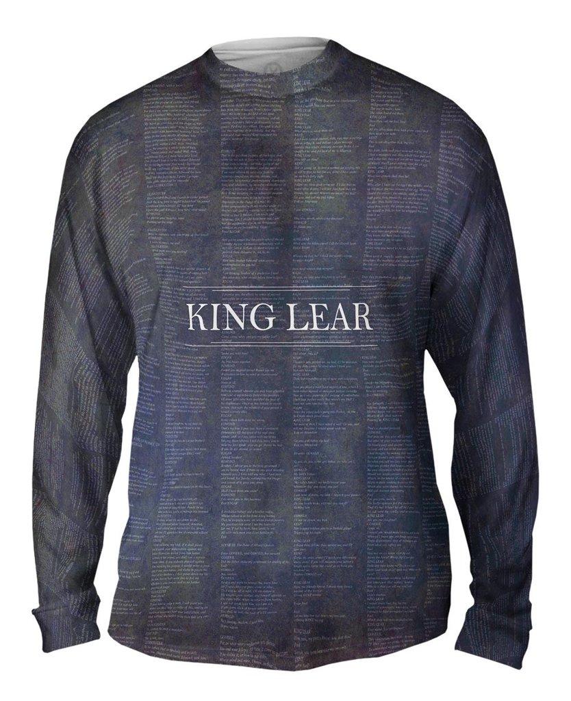 King Lear Mens Long Sleeve Shirt