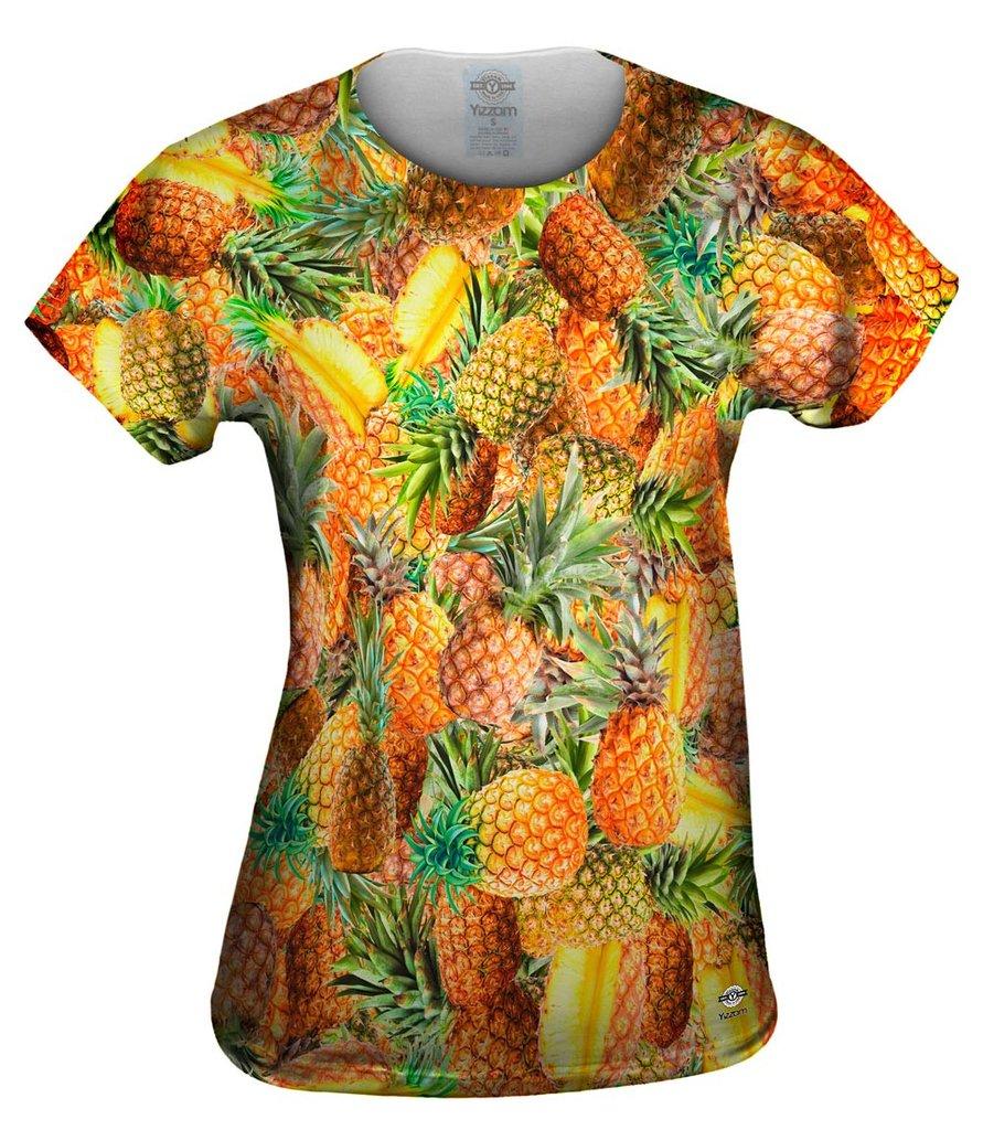 Pineapple Dream Jumbo Womens T-shirt