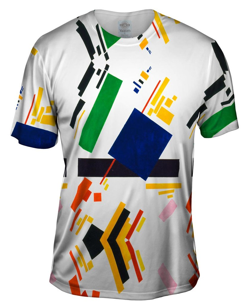 Kazimir Malevich Suprematist Composition Mens T-Shirt