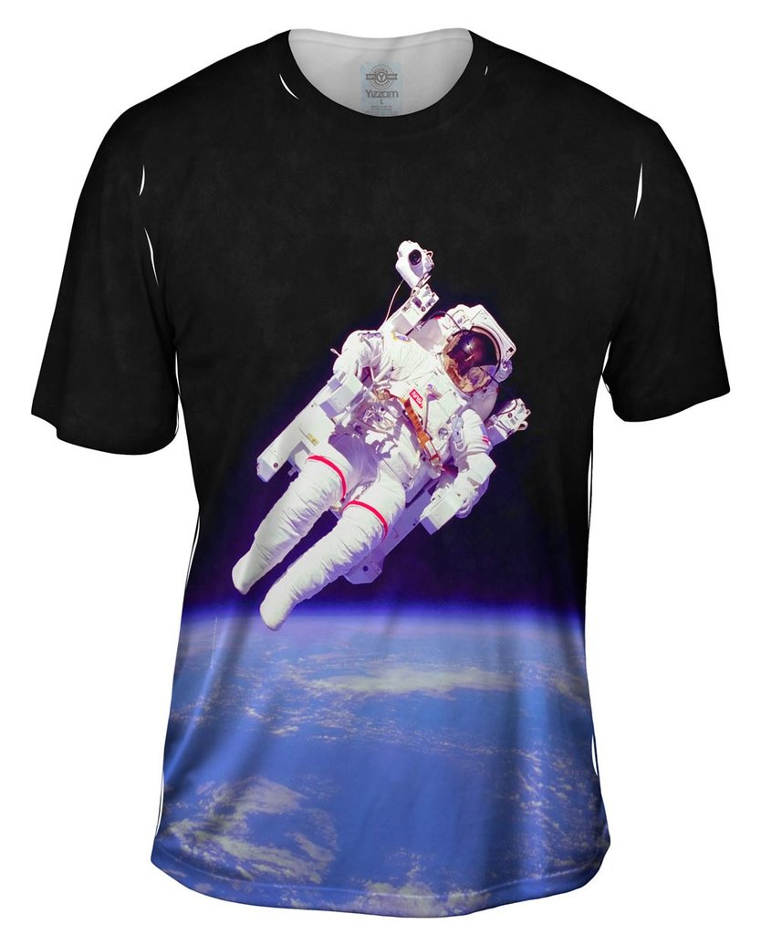NASA Space Walk Mens T-Shirt