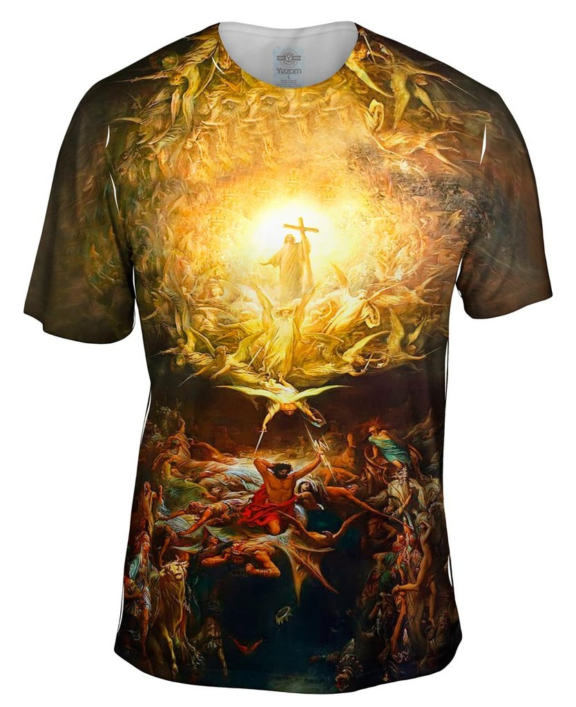 Triumph_Of_Christianity Gustave Dore Mens Tshirt