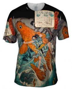 Hiroshige_Giant_Red_Carp_Mens Front