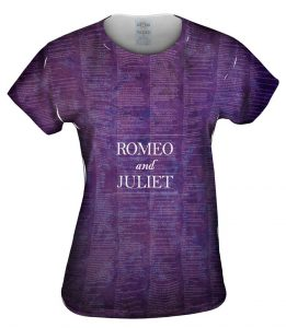 Romeo and Juliet Womens Tshirt