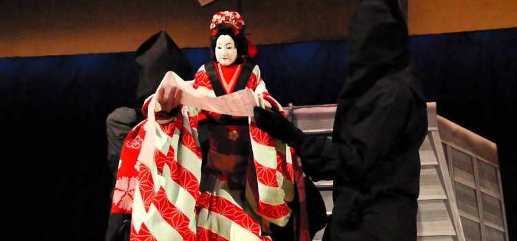 bunraku puppetry