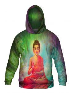 Energy Buddha Mens Hoodie