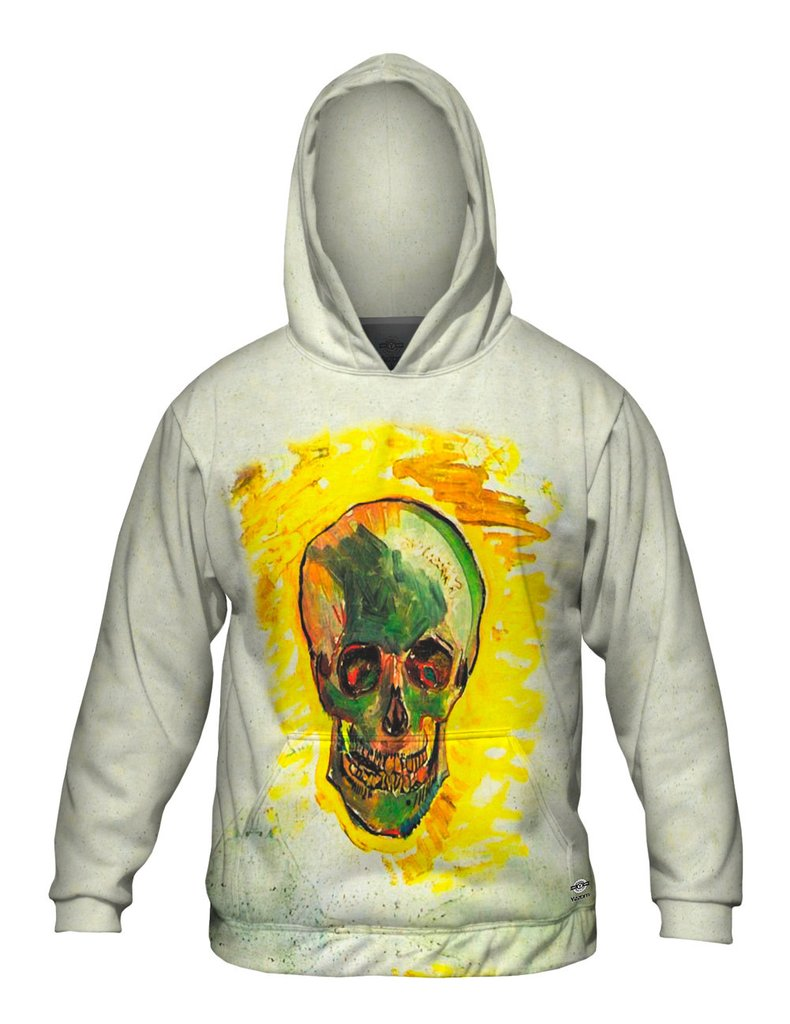 Felix Vallotton Skull Mens Hoodie Sweater