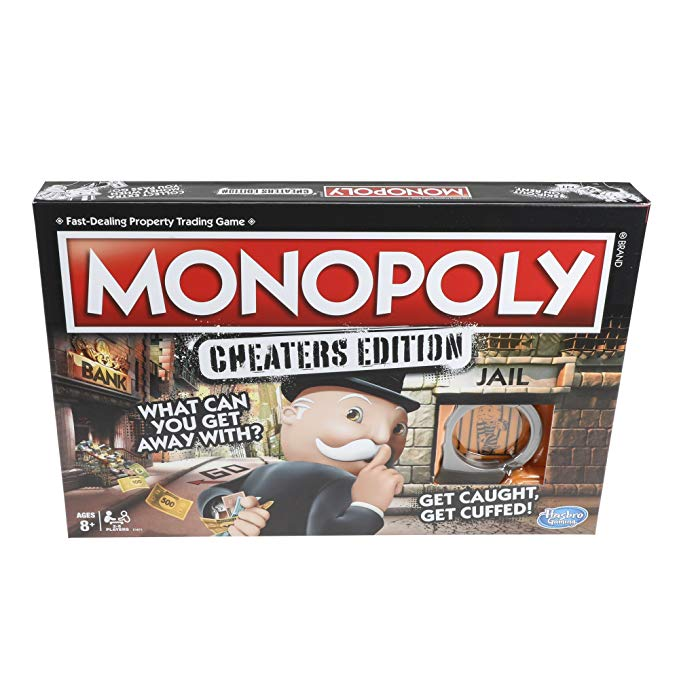 Cheaters Edition Monopoly