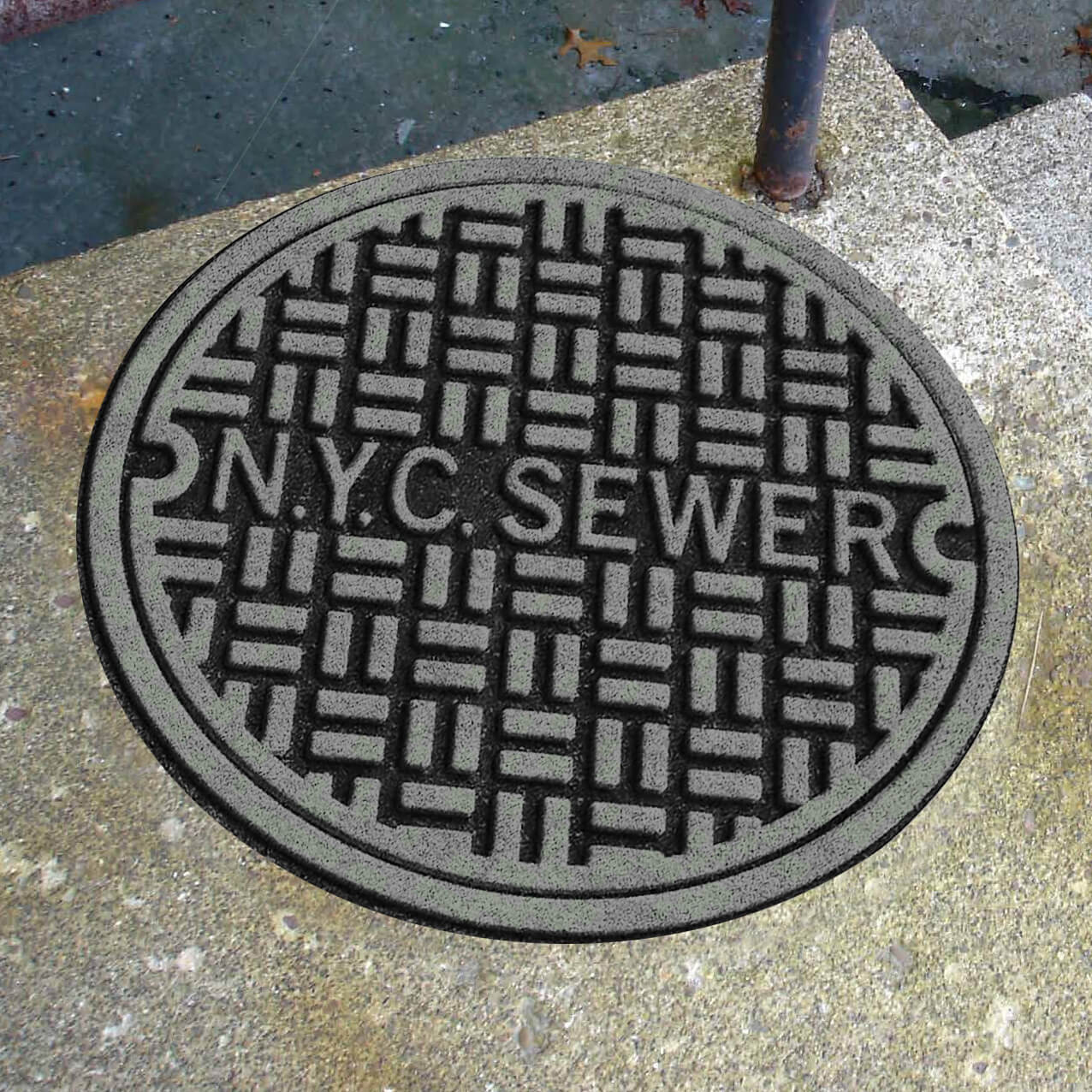NYC-Sewer-Cover-Funny-Door-Mat