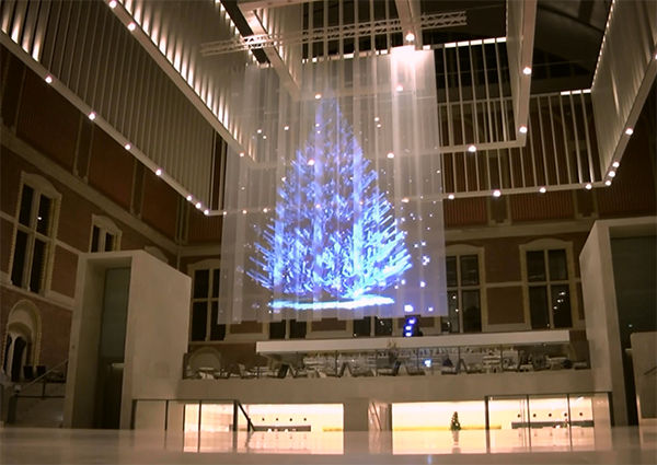 Holographic Christmas Tree.Have You Seen These Crazy Christmas Trees Be Loud A